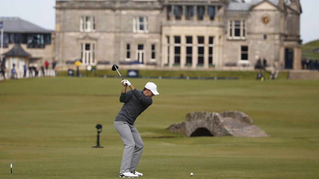 I FORM: Amerikanske Jordan Spieth har fortsatt muligheten til å ta sin tredje strake Major-turnering i golf. Han er på fjerdeplass etter at tre runder er unnagjort.