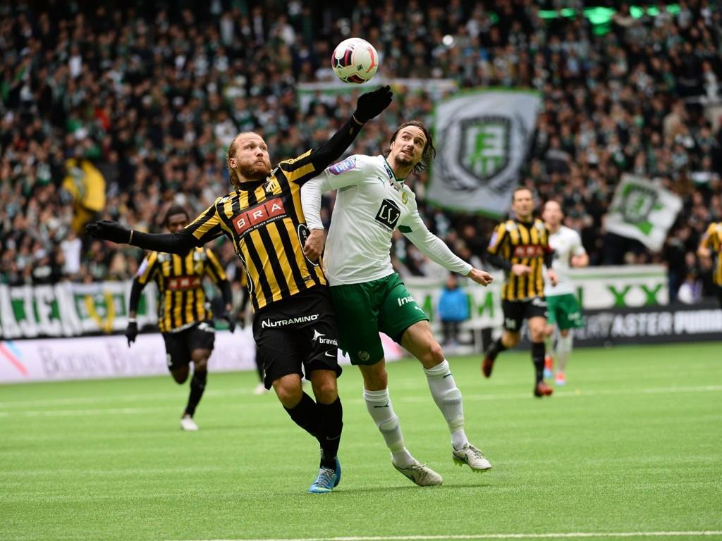 SLITER BORTE: Hammarby er ikke komfortable uten sine egne fans.