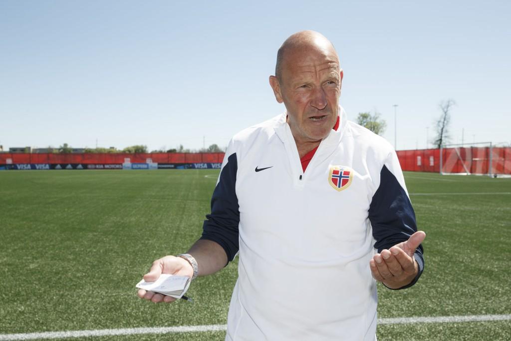 TAR IKKE AV: Toppfotballsjef Nils Johan Semb.