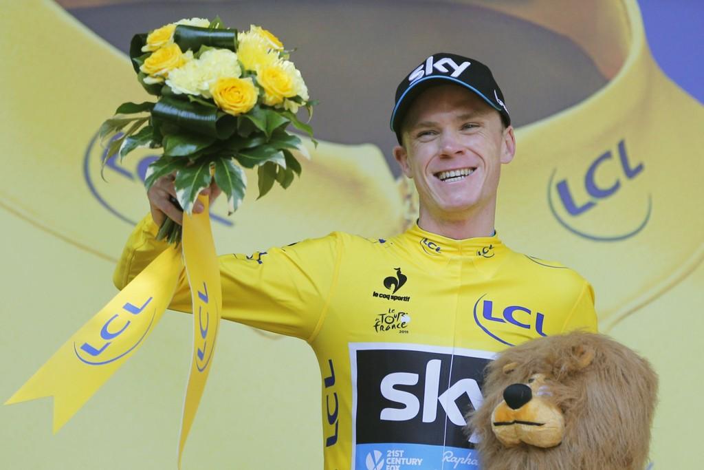 BRYR SEG IKKE OM BESKYLDNINGER: Sykkelstjerne Chris Froome.