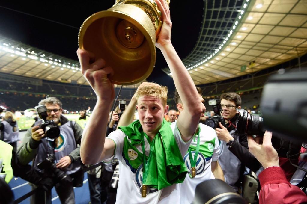 TIL CITY? Wolfsburg-stjernen Kevin De Bruyne.