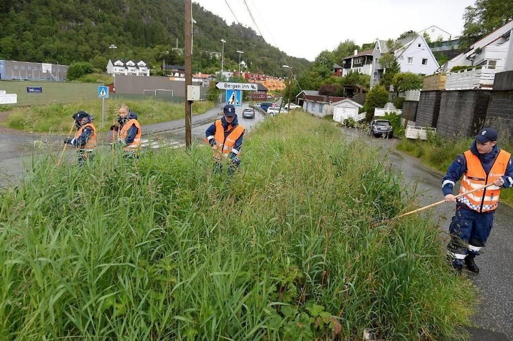 Letemannskapene leter i første omgang i en 300 meters radius fra den savnede hjem.