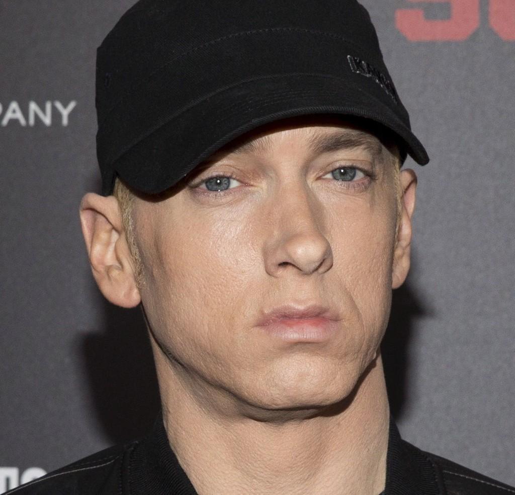 ORDRIKE: Eminem og de andre rapstjernene har det i kjeften. Foto: Reuters