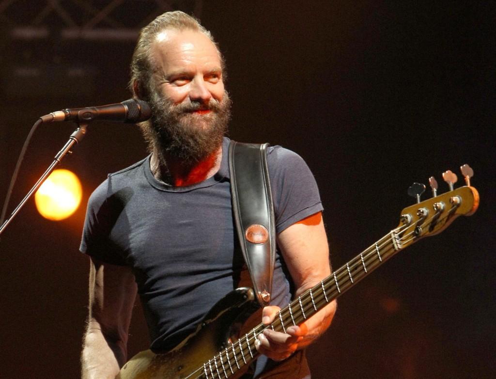NORGESAKTUELL: Sting ankommer Trondheim og Olavsfestdagene lørdag 1. august. Her fra en konsert i Morocco tidligere i sommer. Foto: AP