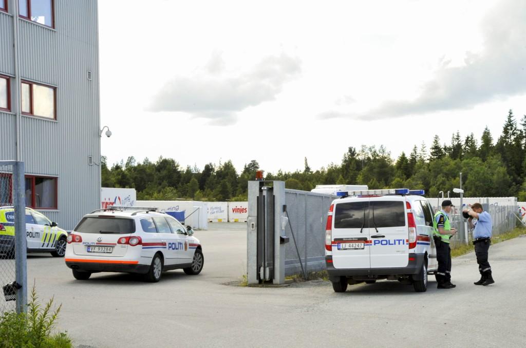 Den døde ble funnet i området Østre Rosten i Trondheim. Foto: Frank Valde / NTB scanpix