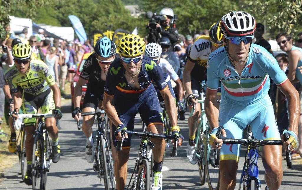 GREP SJANSEN: Vincenzo Nibali tråkket til da Chris Froome fikk trøbbel.