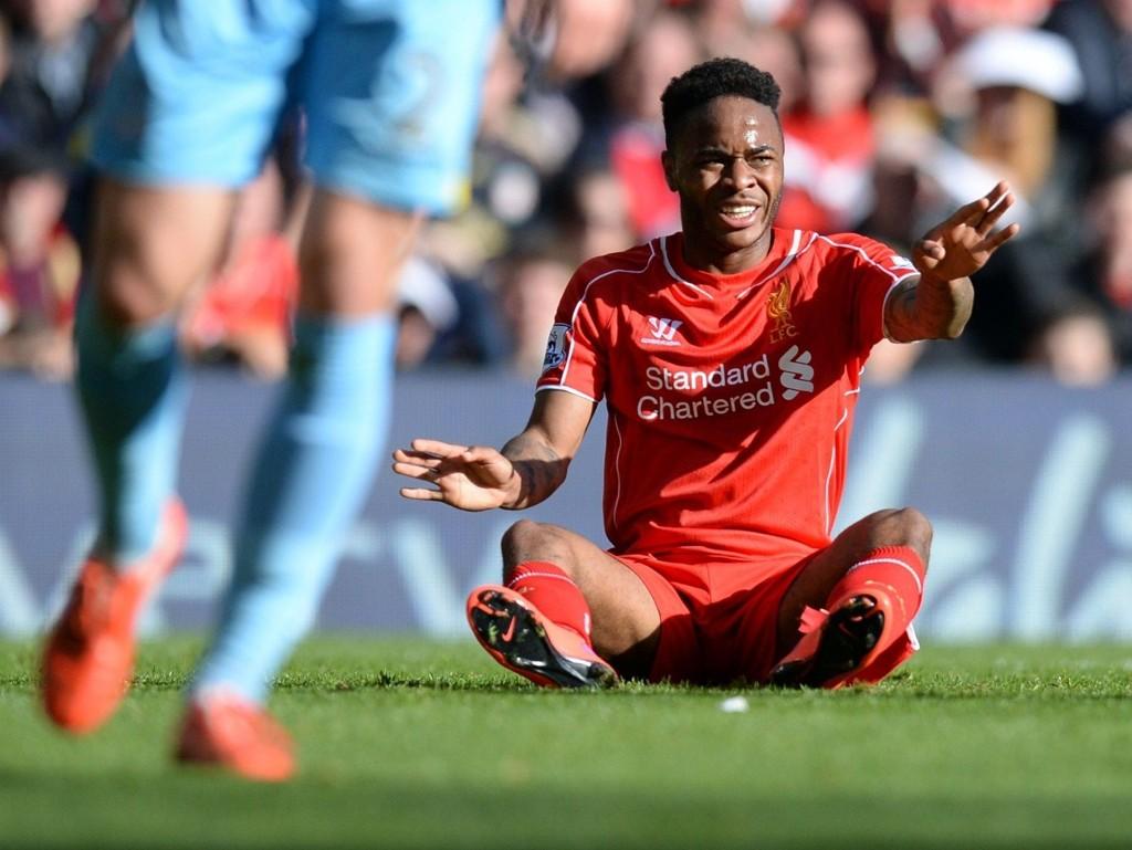 IKKE PENT: Raheem Sterling tvang frem en overgang til Manchester City.