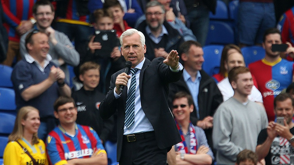 OPTIMISTISK: Alan Pardew.