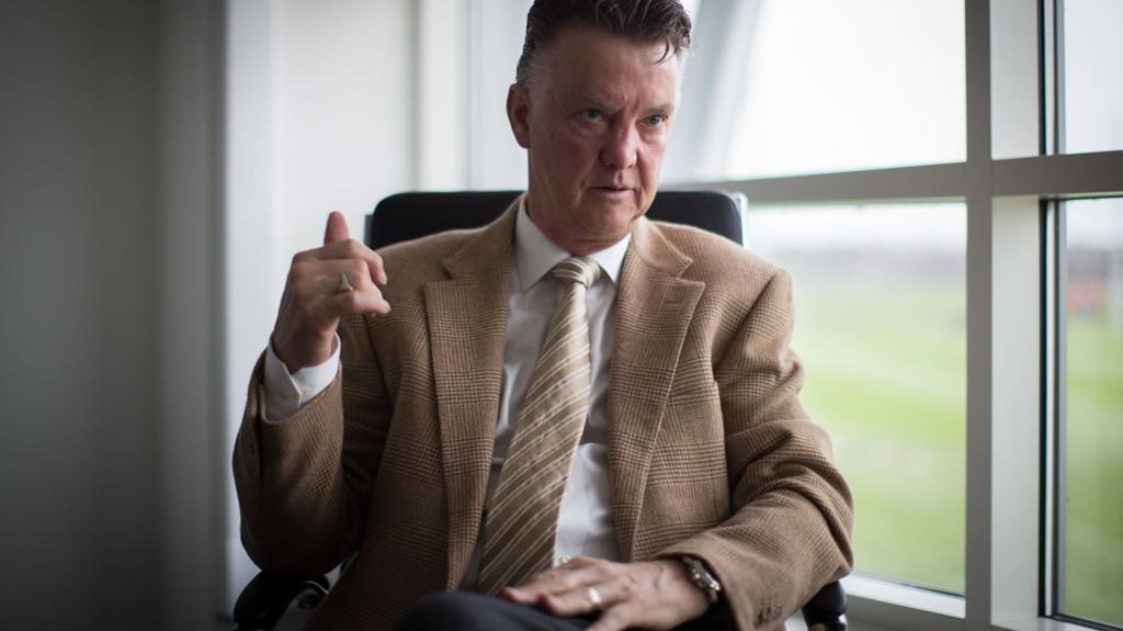 TO ÅR TIL: Louis van Gaal regner med å gi seg om to år.