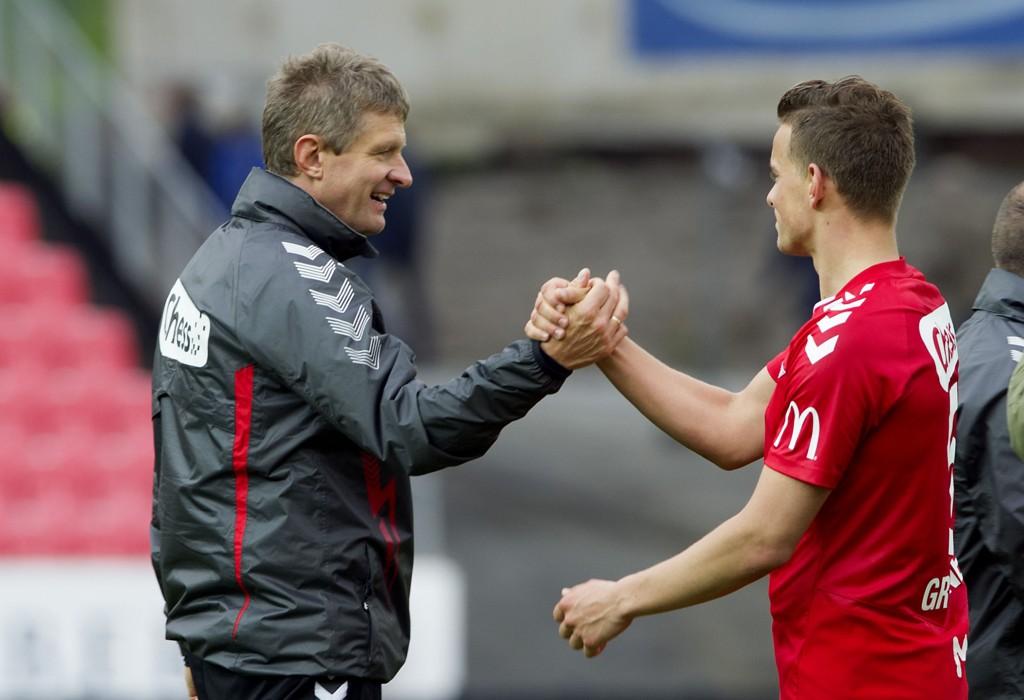BRA TEAM: Lars Arne Nilsen og Jonas Grønner.