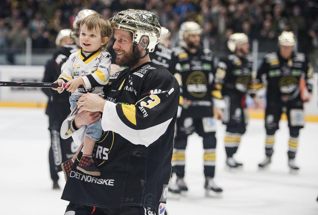 FERDIG: Hockeyspiller Jean-Michael Daoust.