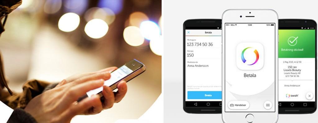 Swish kan sammenlignes med norske Vipps, som lar deg overføre penger via brukernes mobilnummer.