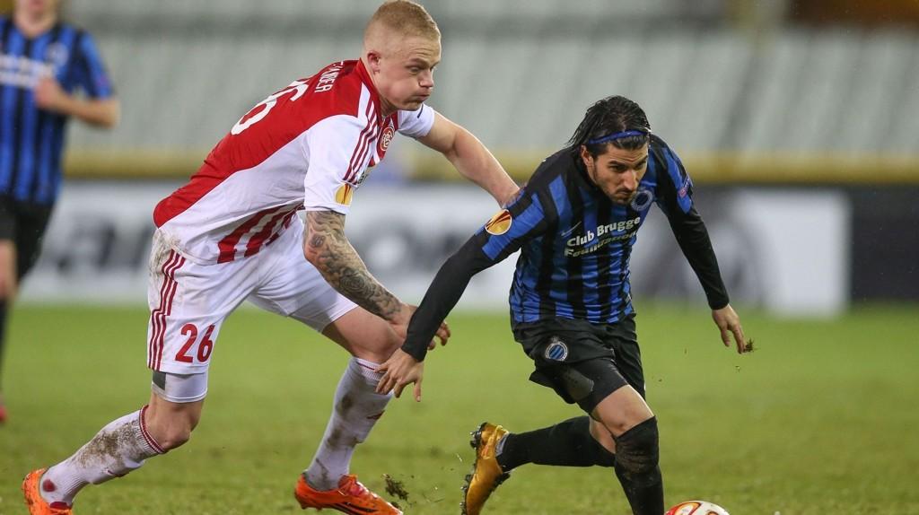 Aalborg tok seg videre fra gruppespillet i Europa League forrige sesong (seier i alle hjemmekampene), men måtte gi tapt for Club Brugge i første sluttspillkamp.