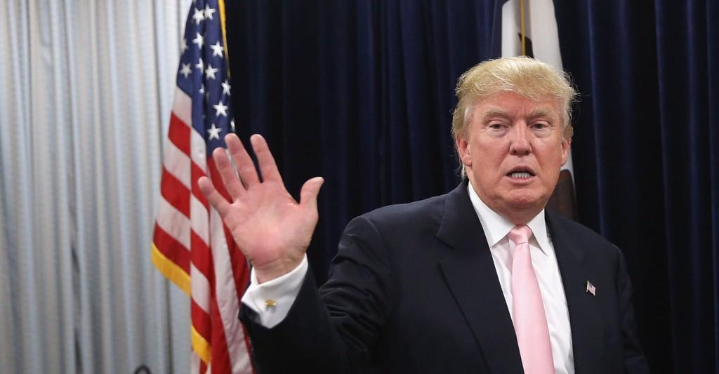 BOIKOTTER: Donald Trump deltar ikke i mandagens debatt i New Hampshire, men stiller opp i torsdagens Fox-sendte debatt.