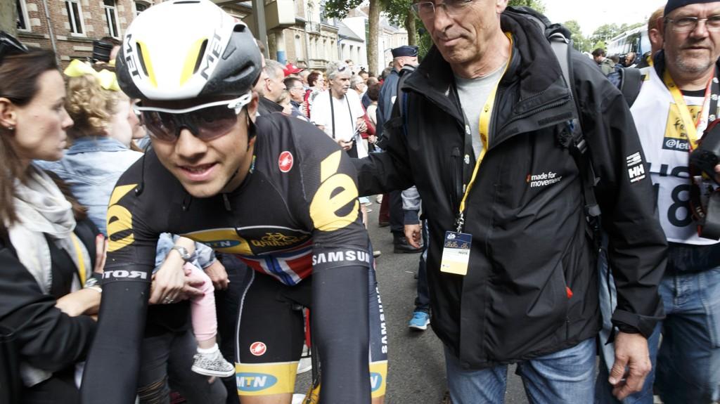 FAVORITT: Rittsjef Jesper Worre i Danmark Rundt på sykkel som starter tirsdag, har Edvald Boasson Hagen som storfavoritt til å vinne sammenlagt i år. Tidligere har Kurt Asle Arvesen vært vinner av dette rittet.
