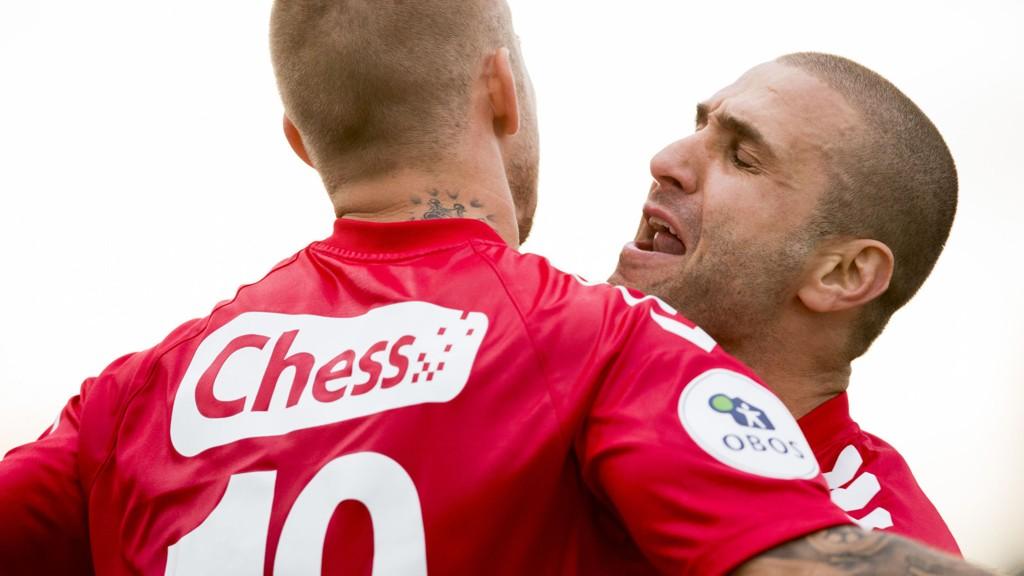 VANT: Azar Karadas scoret Branns seiersmål mot Levanger.
