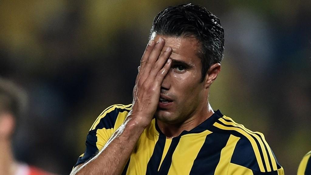 Robin van Persie debuterer trolig fra start for sin nye klubb Fenerbahce i kveldens CL-kvalifiseringskamp mot Shakhtar.