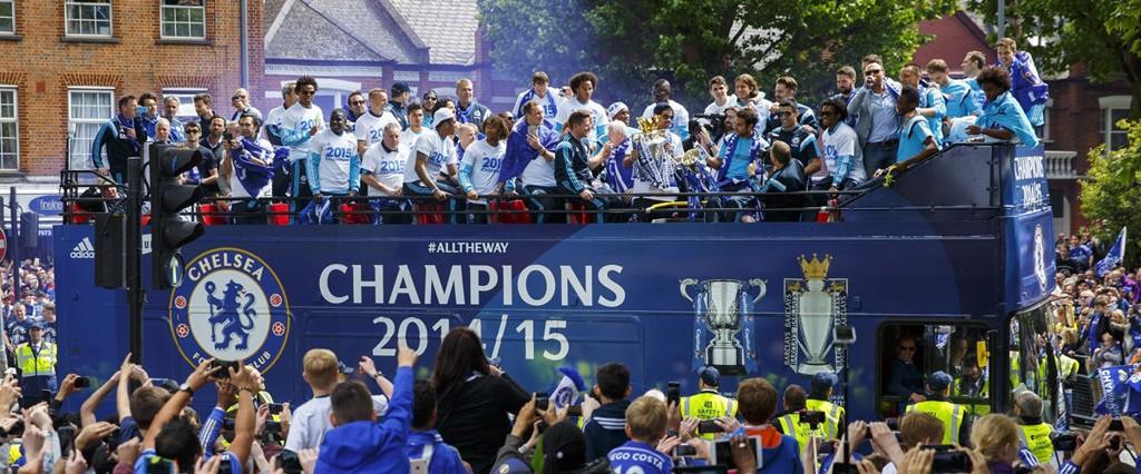MESTERE: Chelsea kapret bøtta forrige sesong.