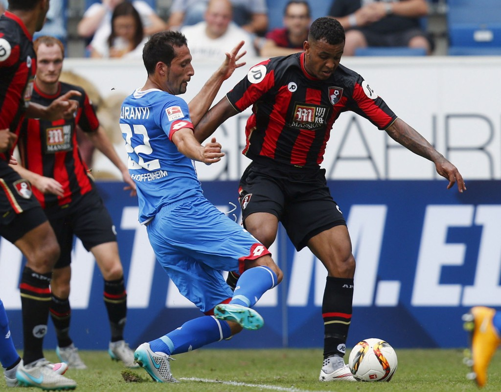 BOURNEMOUTH-SPILLER: Joshua King skal levere mål for Bournemouth.