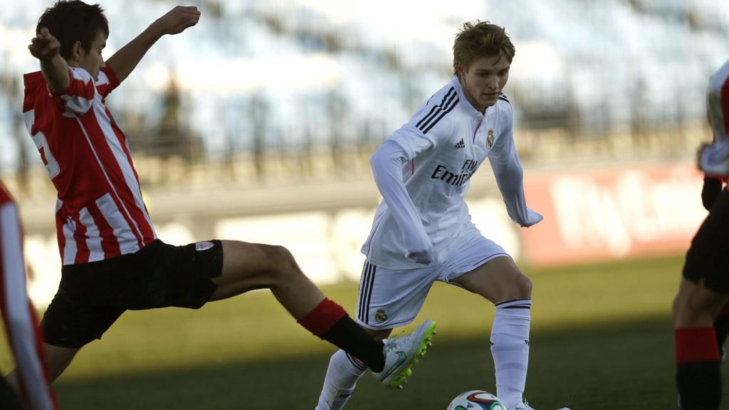 BLIR I REAL: Martin Ødegaard skal etter rapportene være fornøyd med situasjonen i Real Madrid. FOTO: NTB scanpix