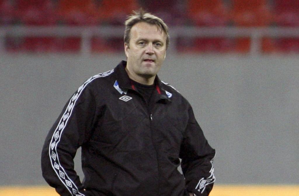 TRENER: Erling Moe er midlertidig trener i Molde.