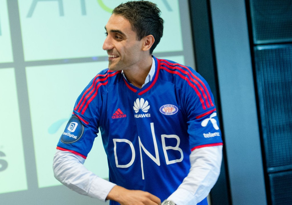 KLAR: Moahmmed Abdellaoue er klar for Vålerenga.