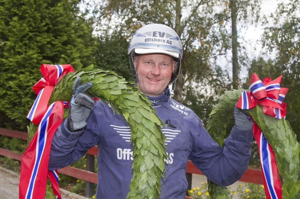 Øystein Tjomsland har favoritten i Kriteriestoet 2015. Foto: Anders Kongsrud/www.hesteguiden.com.
