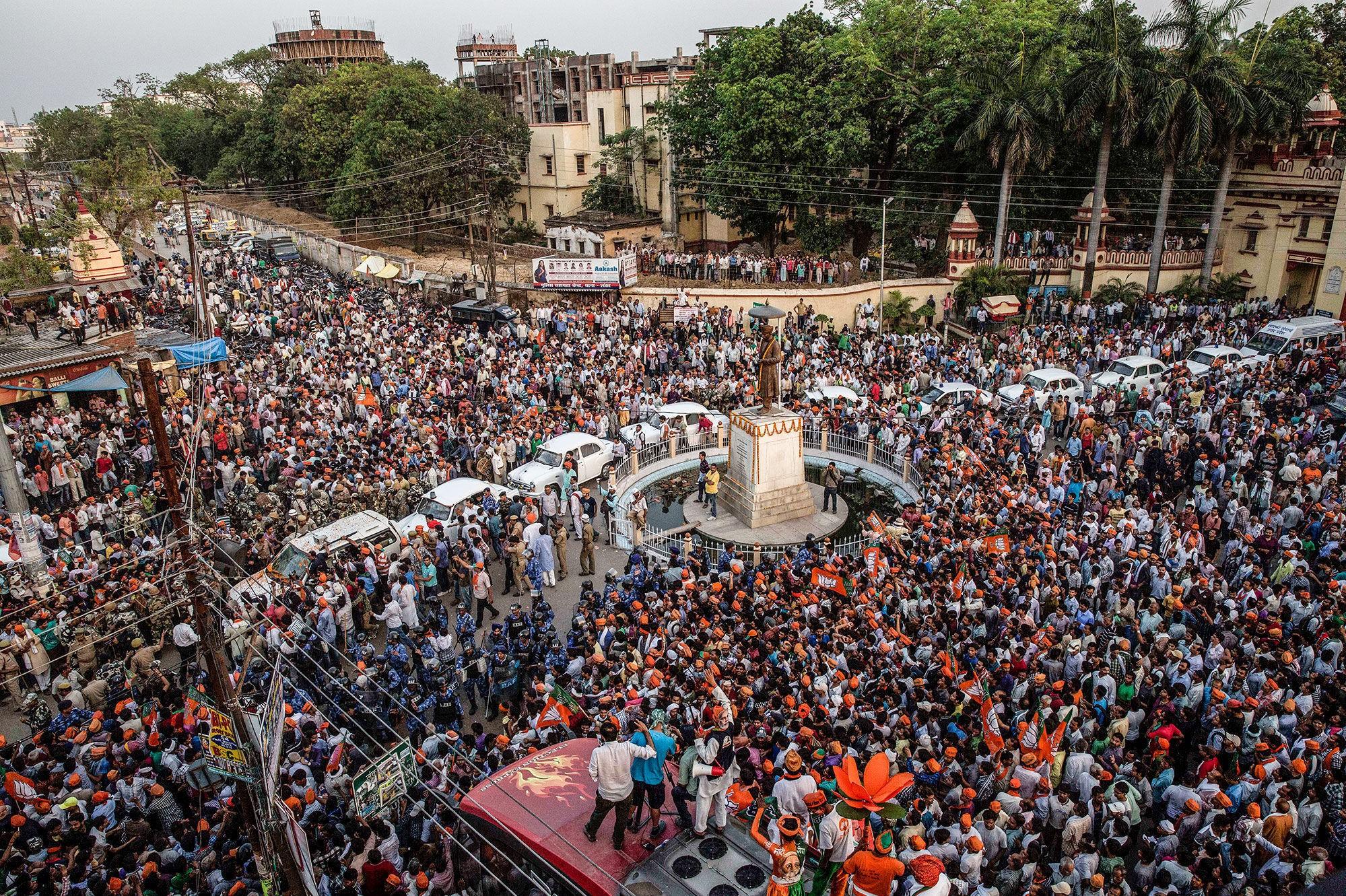 Med 1,65 milliarder mennesker i 2100 mener FN at India blir verdens utvilsomt største land.