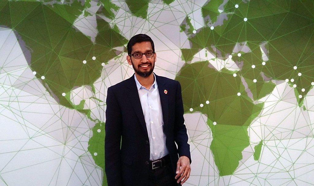 NY GOOGLE-SJEF: 43 år gamle Pichai Sundararajan, bedre kjent som Sundar Pichai, er ny sjef for Google.