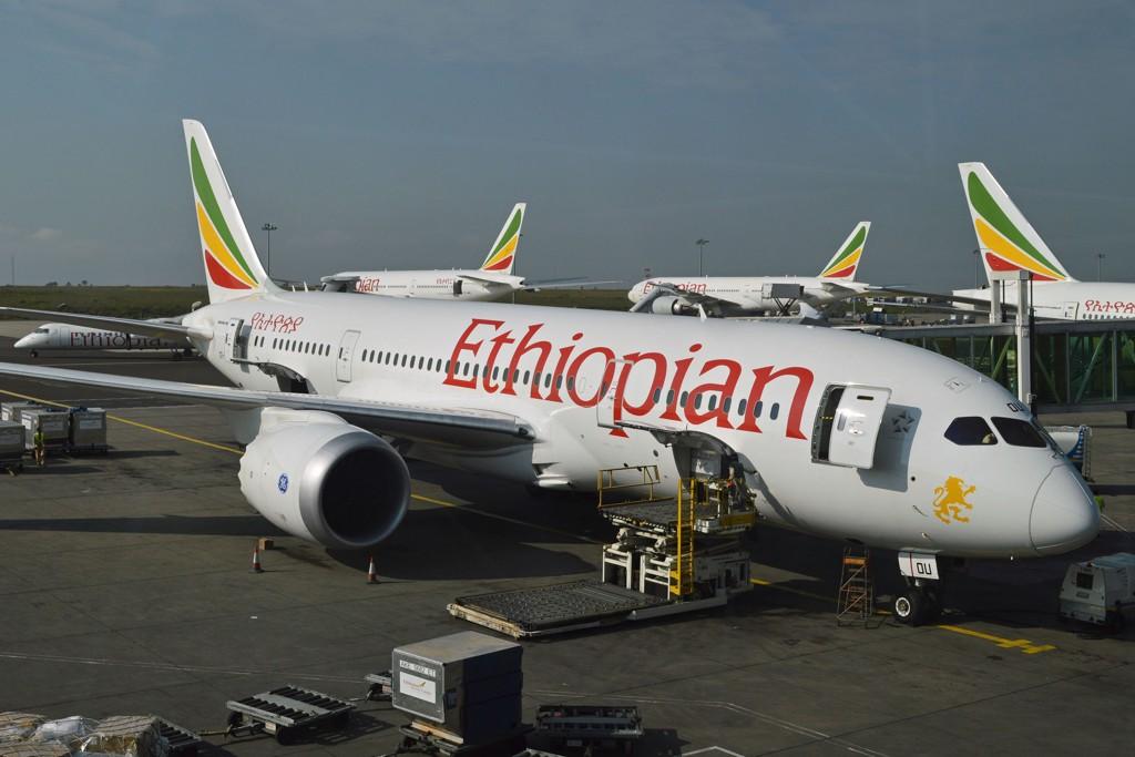 Blindpassasjeren kom seg inn i flyet fra flyplassen i Addis Abeba i Etiopia.