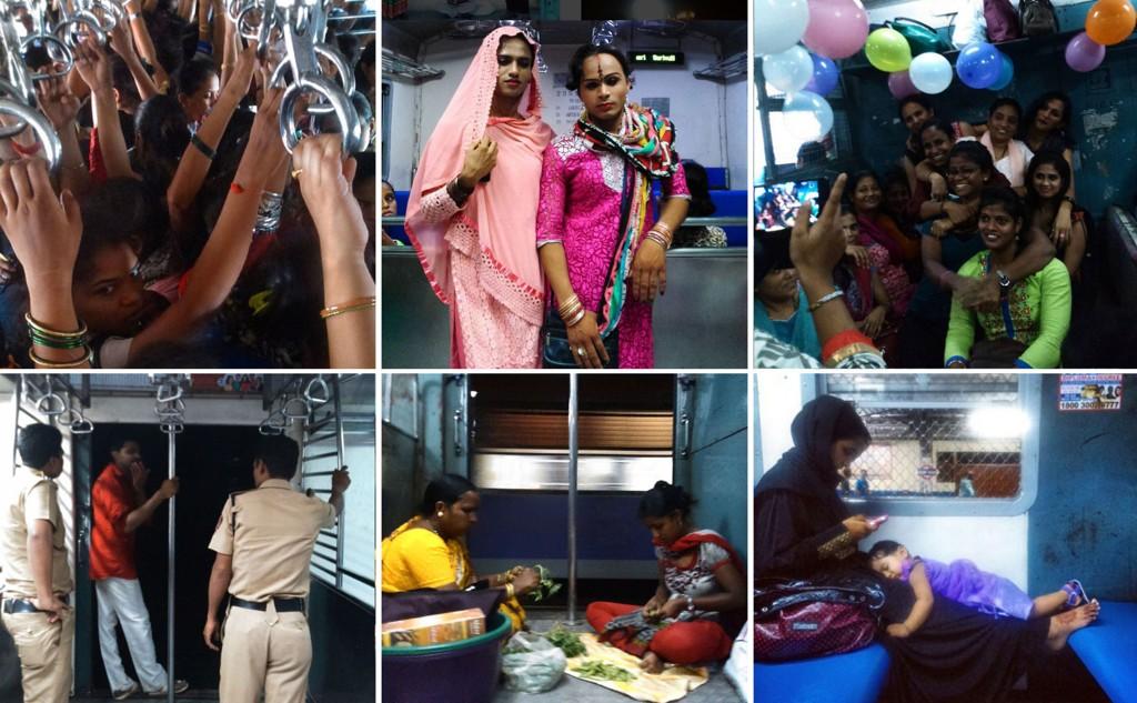 Indiske Anushree Fadnavis dokumenterer hverdag og fest ombord i kvinnevognen på lokaltoget i Mumbai. Bildene er brukt med tillatelse.
