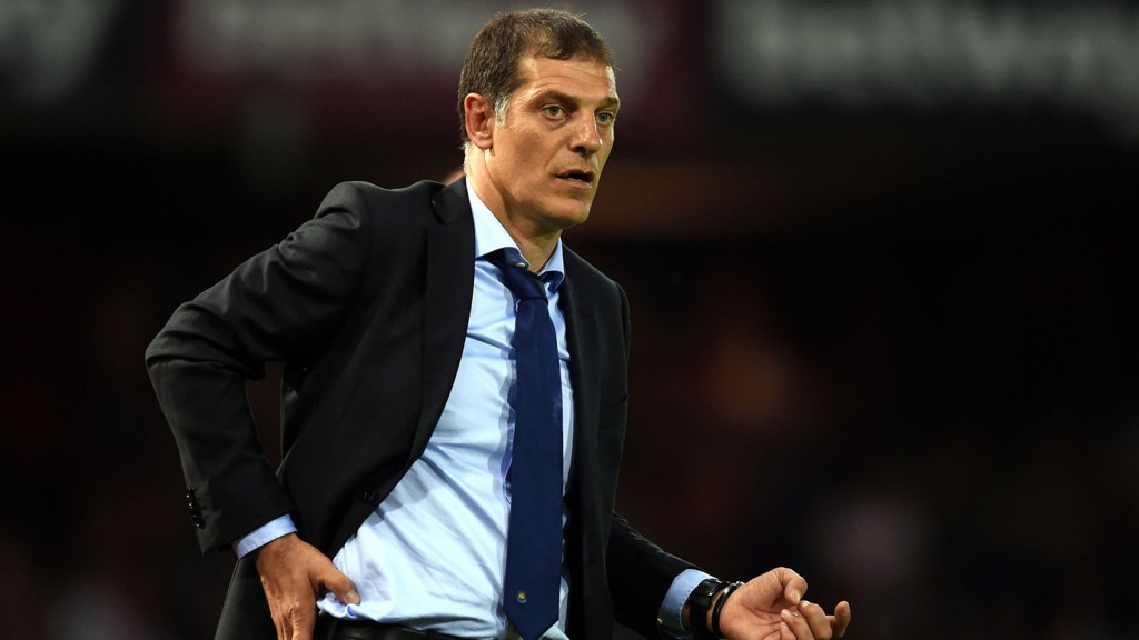 West Ham-manager Slaven Bilic.