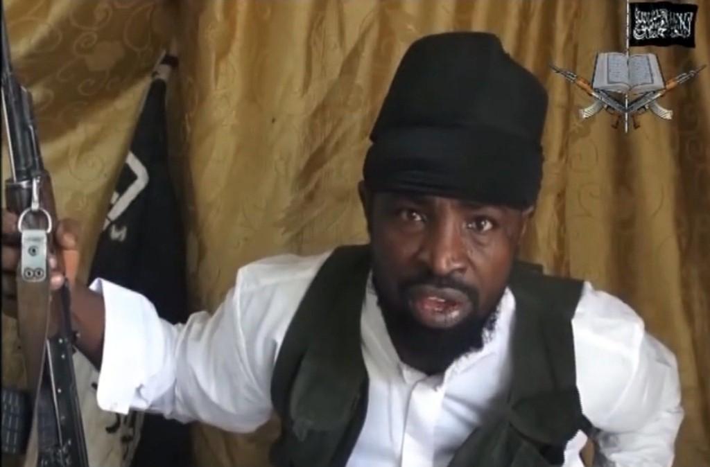 Boko Haram-leder Abubakar Shekau (arkivbilde).