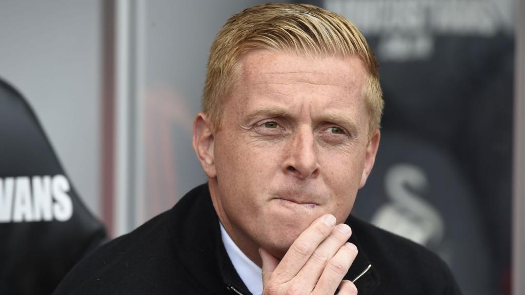 Swansea-trener Garry Monk. FOTO: NTB scanpix