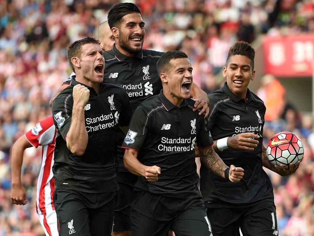 BLE HELT: Philippe Coutinho ble den store helten mot Stoke sist helg.