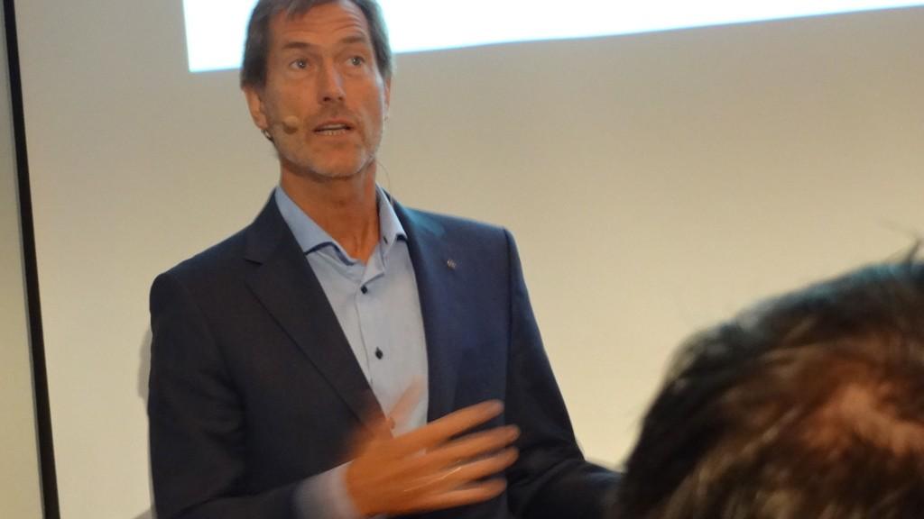 Konsernsjef Walter Qvam i Kongsberg Gruppen mener vi kan mangedoble norsk industri.
