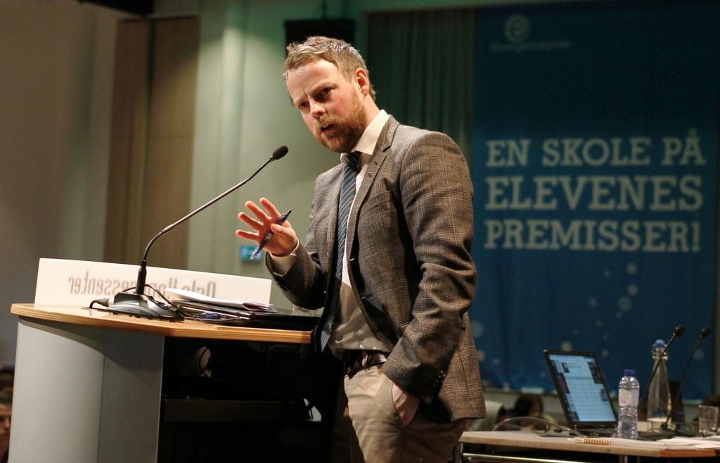 Kunnskapsminister Torbjørn Røe Isaksen
