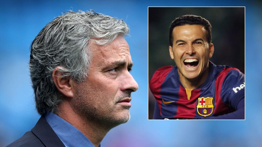 RINGTE: Daily Mail hevder at Josè Mourinho ringte Pedro for å sikre avtalen med spanjolen. FOTO: NTB scanpix