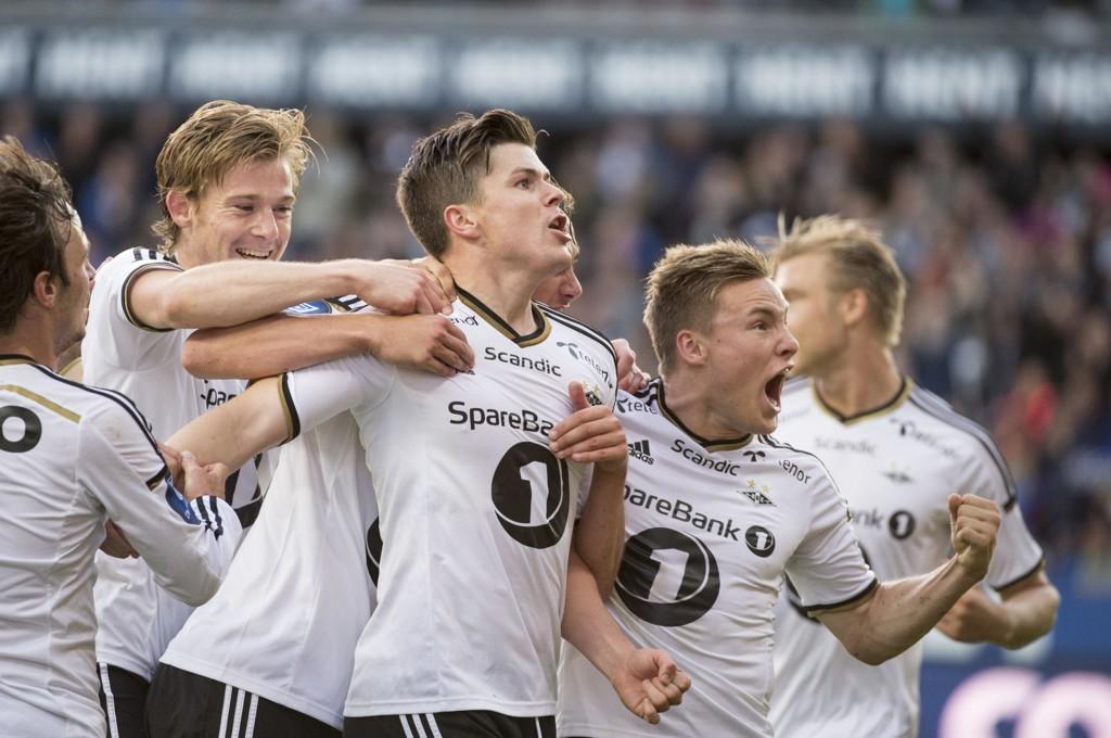 I KNALLFORM: Rosenborg høvler over alle og enhver for tiden.