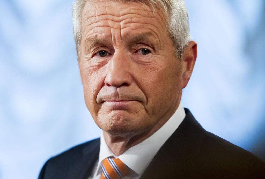 Generalsekretær i Europarådet, Thorbjørn Jagland, reagerer kraftig på Slovakias varsel om at landet bare ønsker å ta imot kristne flyktninger fra borgerkrigsherjede Syria.