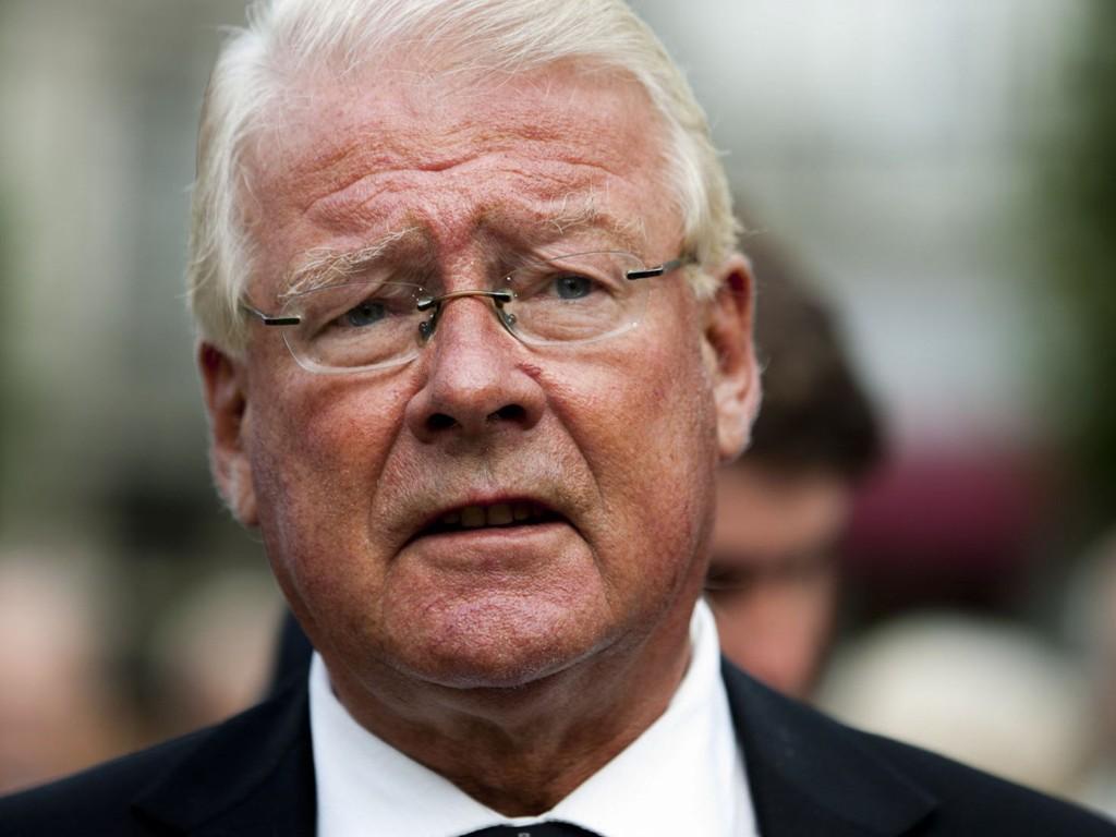 OVERRASKET: Frps gruppeleder i Oslo, Carl I. Hagen, sier han er overrasket over at KrF ikke vil samarbeide med Frp etter hans flyktningeutspill.