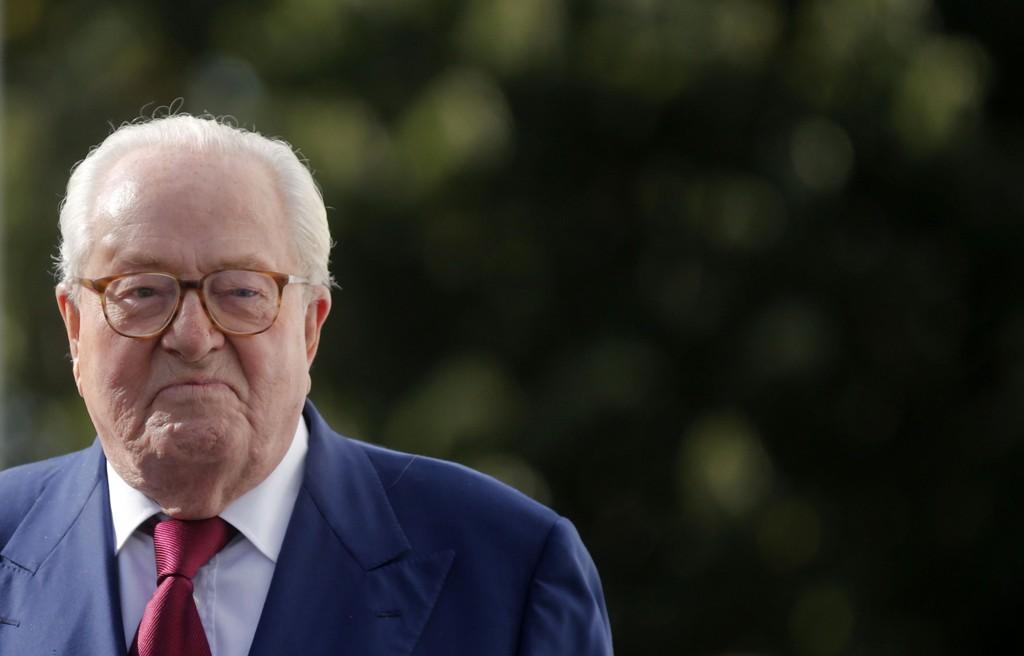 Jean-Marie Le Pen, grunnleggeren av partiet Nasjonal front i Frankrike.