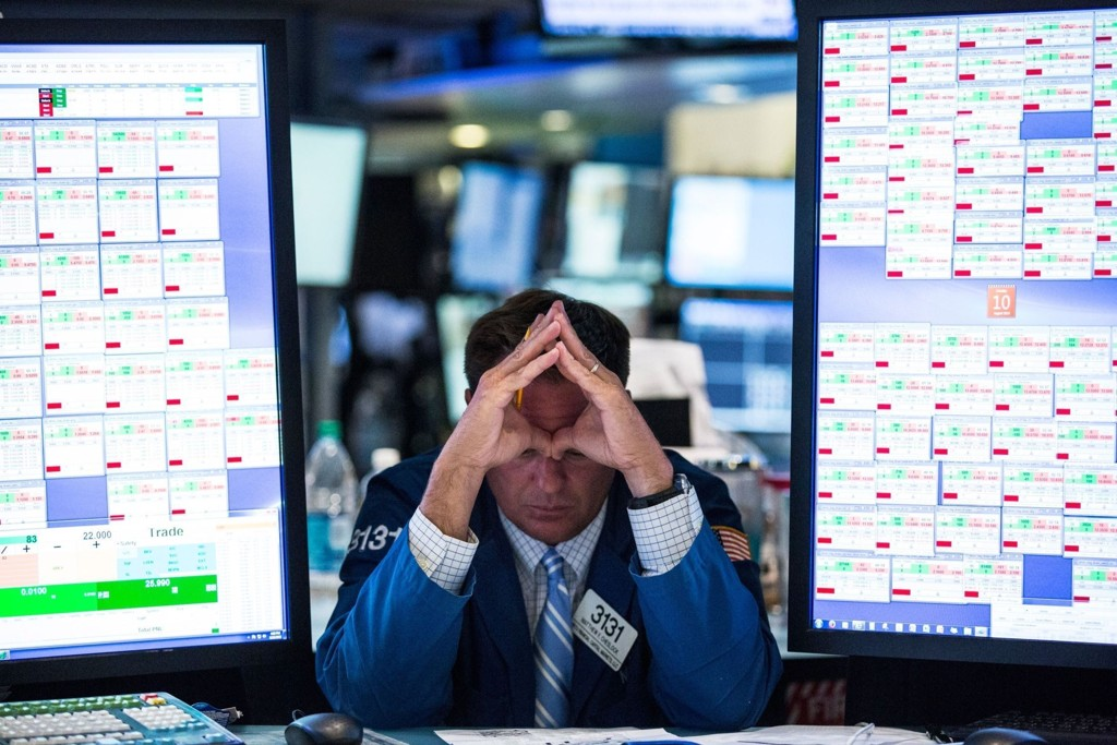 FALT IGJEN: Dow Jones-indeksen noterte årets laveste tall.
