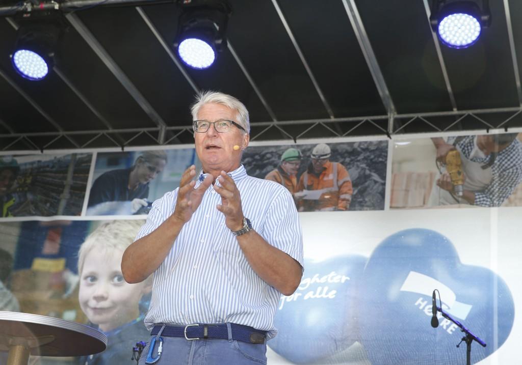 Valgkampåpning i Spikersuppa. Oslo Høyre hadde valgkaampåpning denne helgen. Fabian Stang er Høyres ordførerkandidat (arkivfoto).