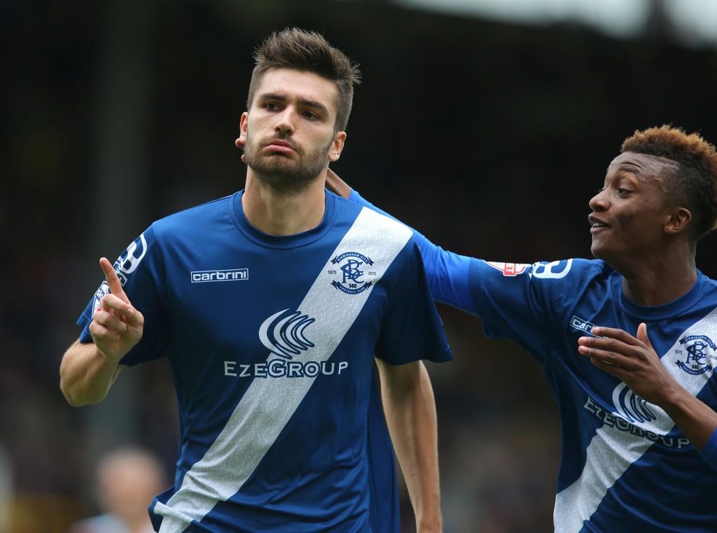 I FORM: Jon Toral (til venstre) har vært formlaget Birminghams beste spiller i sesonginnledningen. Her feirer han å ha scoret mot Burnley sist helg.