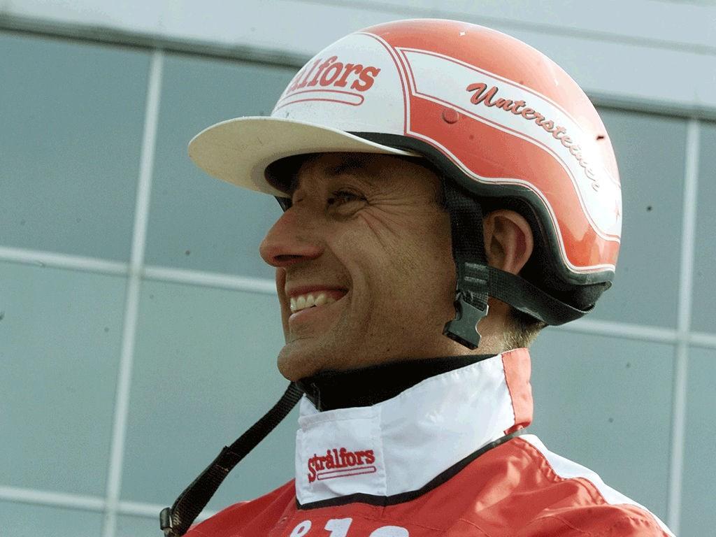 Peter Untersteiner er høykaktuell til fredagens V65-løp på Vaggeryd.