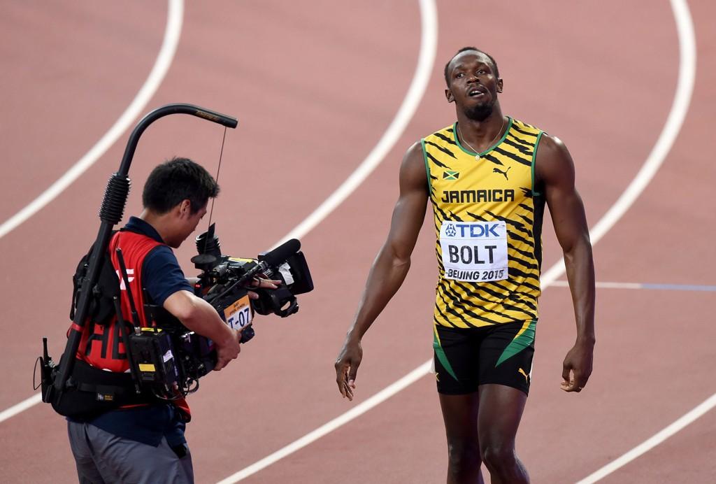 FINALE: Usain Bolt skal løpe finale på 100 meter i VM.