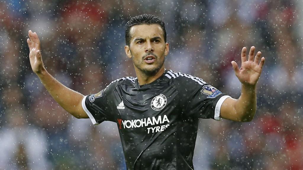 VISTE SEG FREM: Pedro brukte bare 20 minutter på å notere seg for sin første scoring i Chelsea-trøya.