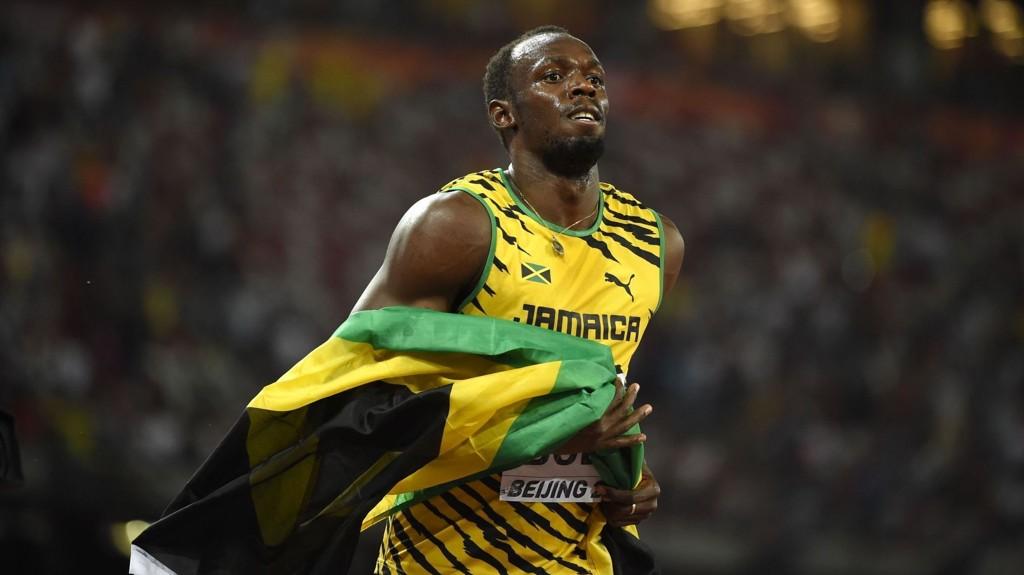 VANT: Jamaicas Usain Bolt var raskest på 100 meteren under VM i Beijing.