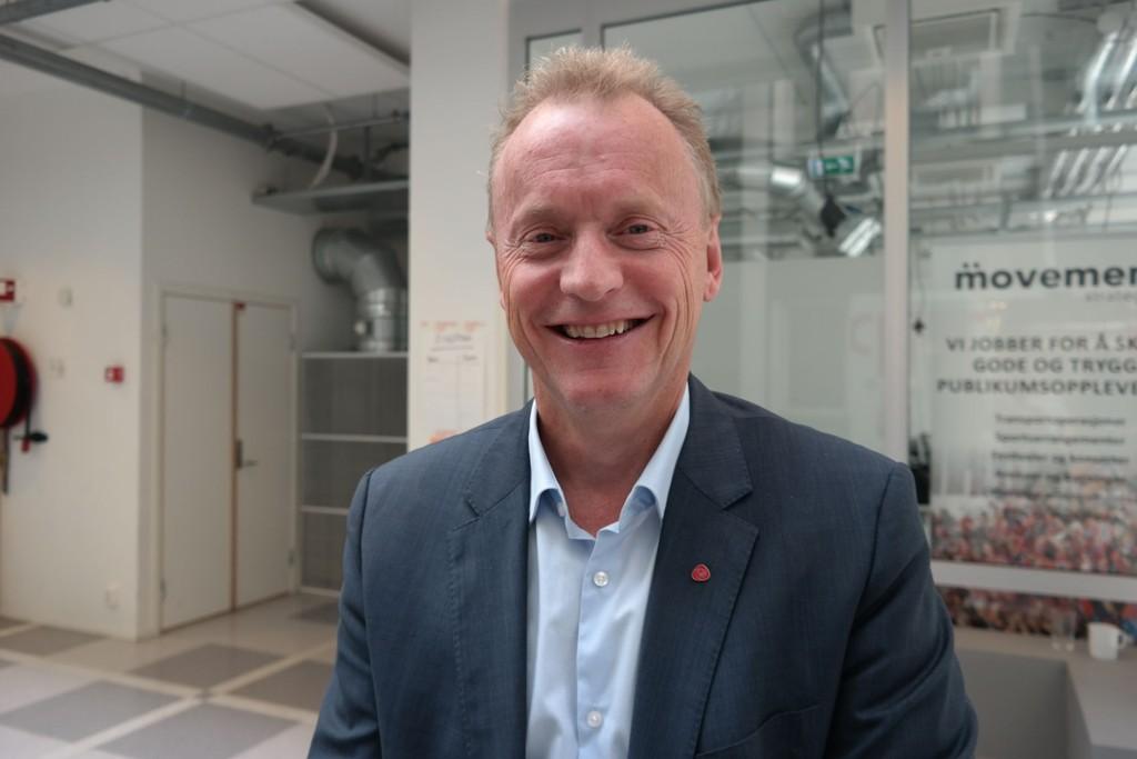 LOVER SKATT: Oslo Arbeiderparti og byrådslederkandidat Raymond Johansen vil innføre en eiendomsskatt med fire millioner kroner i bunnfradrag, og en skattesats på 2 promille til neste år, som øker til 3 promille fra 2017.